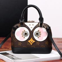 high qaulity imported branded pattern material hen decoration shell shape handbag fashion ladies shoulder crossbday party bags(China (Mainland))