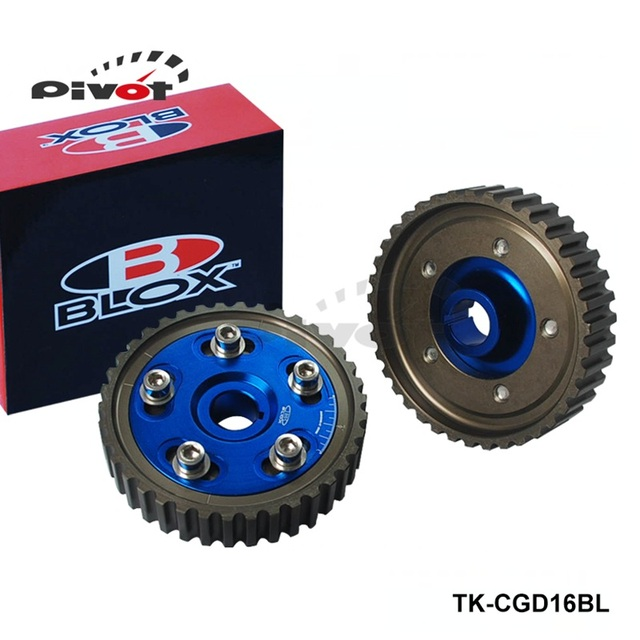 Blox Camshaft D16z6: Pivot Blox Adjustable Cam Gears Timing Gear Pulley Kit For