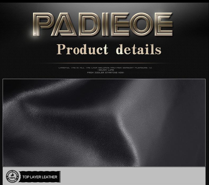 Padieoe Unisex Genuine Leather School Bags For Teenagers Backpack Famous Brand Men Travel Casual Cowhide Laptop Backpack