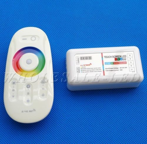 RGBW RGB Strip LED Touch Screen Dimmer 2.4G RF Remote Wireless Control System(China (Mainland))