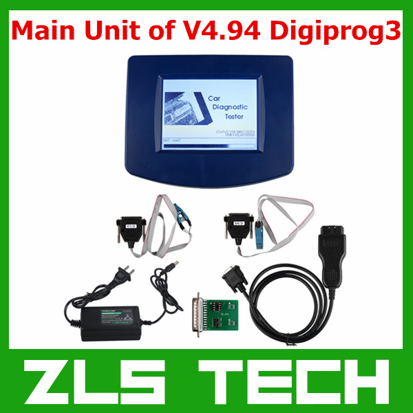 Best Price Main Unit of Digiprog III Digiprog 3 DigiProg V4.94 Odometer Programmer with OBD2 ST01 ST04 Cable with Lowest Price(China (Mainland))