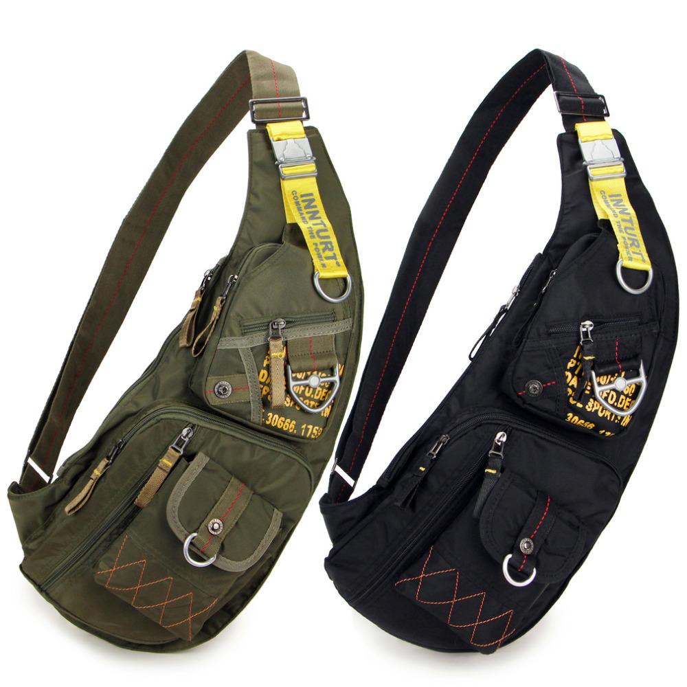 Гаджет  Outdoor Casual Military tactical sling sport Travel Chest bag Shoulder bag Messengers bag for men women Black Green None Камера и Сумки