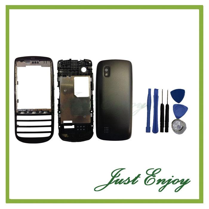 Новый Полный Дело Корпус + Клавиатура Для Nokia Asha 300 3000 n300 Полный Задняя Крышка Кнопки + Инструменты Бесплатно Отслеживания чехол накладка для nokia asha 303