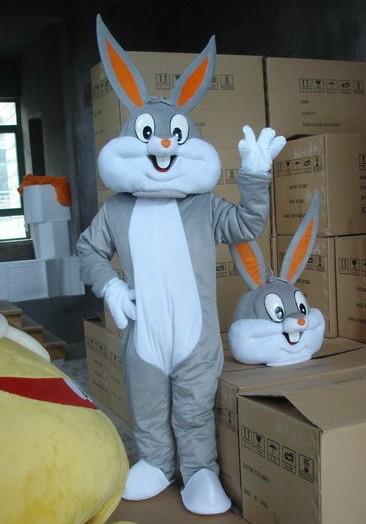 fantasia 2015 the latest hot Festival special easter bunny rabbit adult cartoon mascot costume Free shipping(China (Mainland))