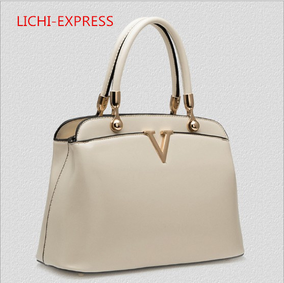 Hot sell 2015 new style women's handbag Baguette PU Polyesteer small bag solid bag High quality(China (Mainland))
