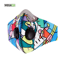 Buy WOSAWE Anti-Fog Filter & Dust-proof Cycling Mask Activate Carbon,Breathable Bike Bicycle Face Cover PM 2.0 Training Mask for $9.09 in AliExpress store