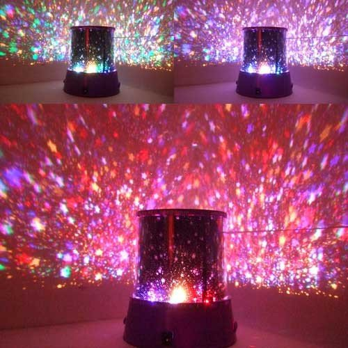 Novelty Nightlight Amazing Flashing Colorful LED Star Master Star Beauty Sky Light Projector Lamp(China (Mainland))