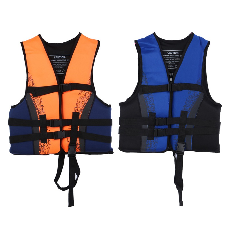 Outdoor Blue Orange Water Sports Child Vest Life Saving Jackets Swimmer Gilet for Kids Children(China (Mainland))