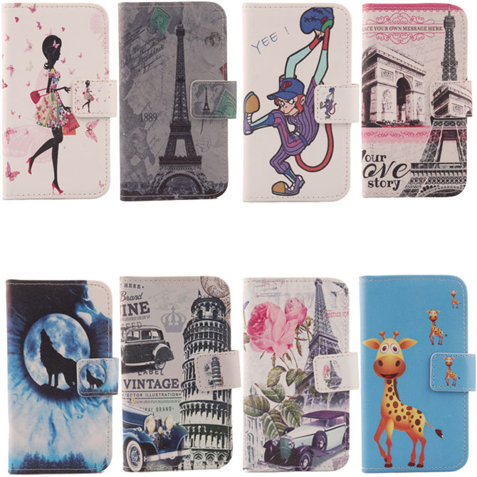 For Utime Smart PDA S36 I15 Hot Flip Cover Skin Pouch With Card Slot Optional PU Leather Case Phone Case In Stock Painted(China (Mainland))