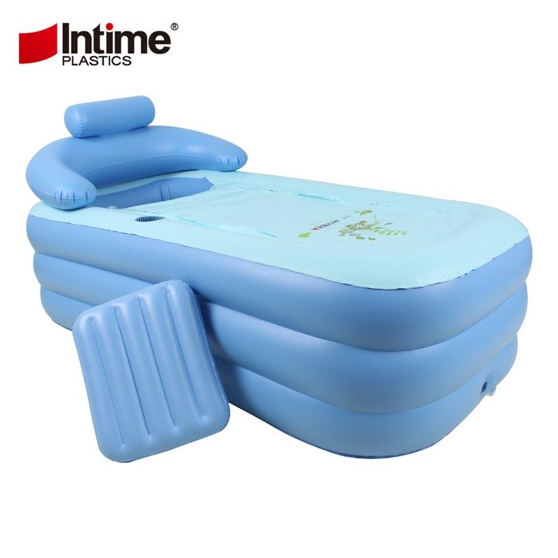 Adult warm bath baby swimming pool inflatable bathtub thickened environmental protection(China (Mainland))