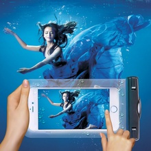 5.5 » универсальный водонепроницаемый экран сенсорный сумка чехол для Samsung Galaxy S3 S4 S5 S6 край A3 A5 A7 J5 J7 E7 On5 On7 ядро премьер
