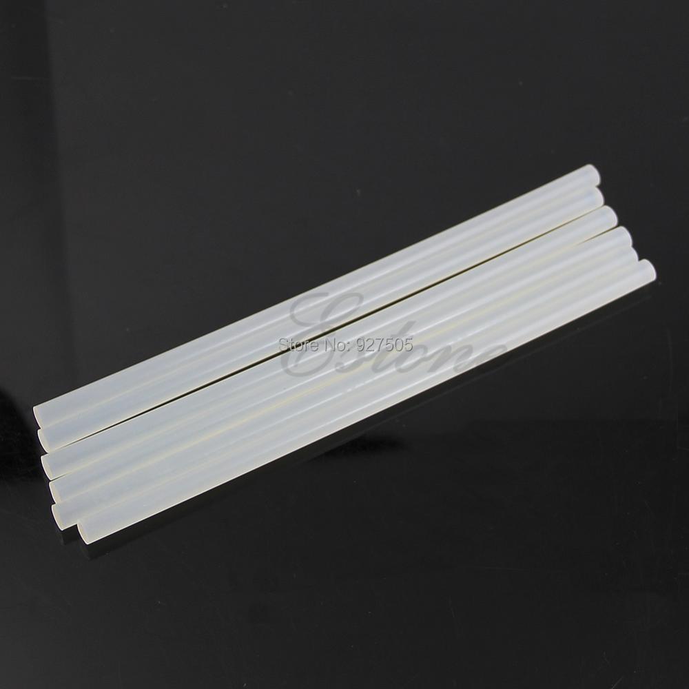B39 EU Plug 20W Electric Heating Hot Melt Glue Gun Sticks Trigger Art Repair Tool 6Pcs