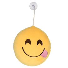 New Arrival Cute Emoji Emoticon Stuffed Plush Novelty Funny Gadgets(China (Mainland))