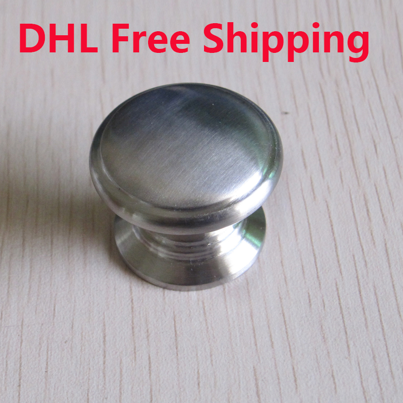 40Pcs/lot Stainless Steel New Cabinet Handles Hare Furniture Knob Ceramic Door Knobs Chest of Drawers High Quality(China (Mainland))