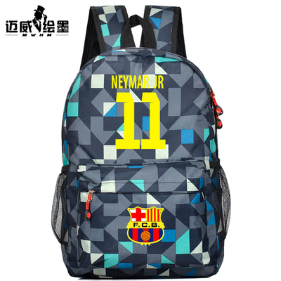 New Backpacks,World Cup Neymar Small School Backpack,Kids Messi Soccer Star Backpack for Boys(China (Mainland))