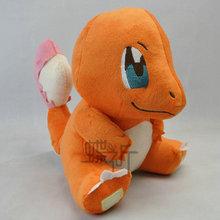 28cm Pokemon go Crystal Version Charmander Anime Plush Soft Toys Pokemon go Doll Toy Stuffed Plush Classic Anime Free Shipping