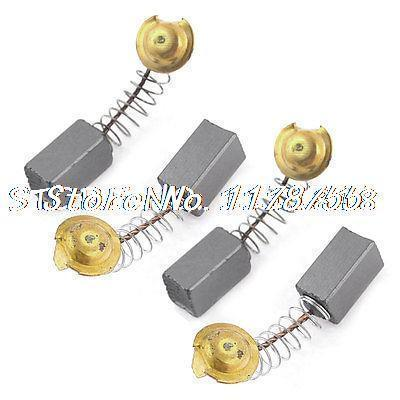 4 Pcs Spare Parts 6mm x 7mm x 11mm Carbon Brush for Dust Collector(China (Mainland))