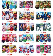 "New Arrival Boys Short Socks Children Short Socks Kids Baby Boys Cartoon Socks 12 Pairs /Lot Length 18 cm (7"" ) Or 15cm(6"")(China (Mainland))"