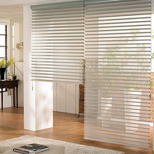 New Arrival Modern Luxury Zebra Blinds Rollor Blind Curtain Half Blackout Curtains Custom Made W100cmxH100cm Free Shipping(China (Mainland))