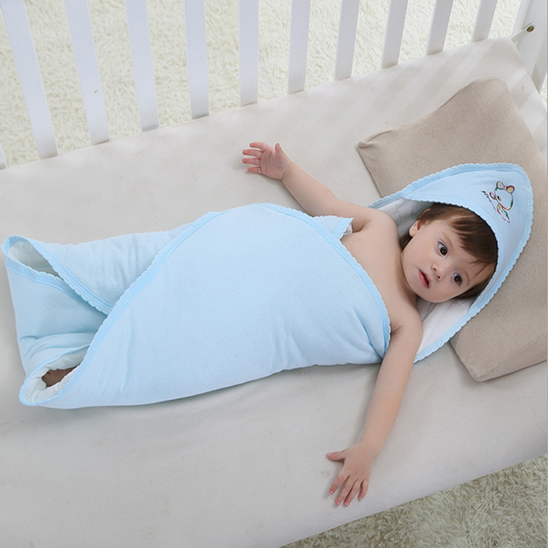 1 Pcs Baby Swaddle Wrap Soft Envelope For Newborn Baby Blanket Swaddle Carters 100% Cotton Sleeping Bag Infant Bedding<br><br>Aliexpress
