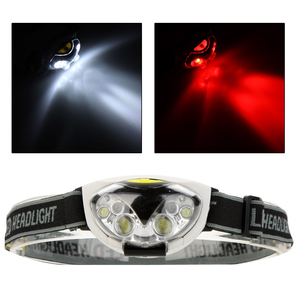 Water Resistant 1200 Lumens 6 LED Headlight 3 Modes Outdoor Headlamp Head Light for Camping Hiking Cycling(China (Mainland))