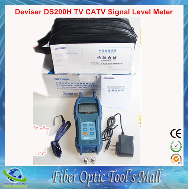 Mini Handheld 46--864MHz TV CATV Signal Level Meter(China (Mainland))