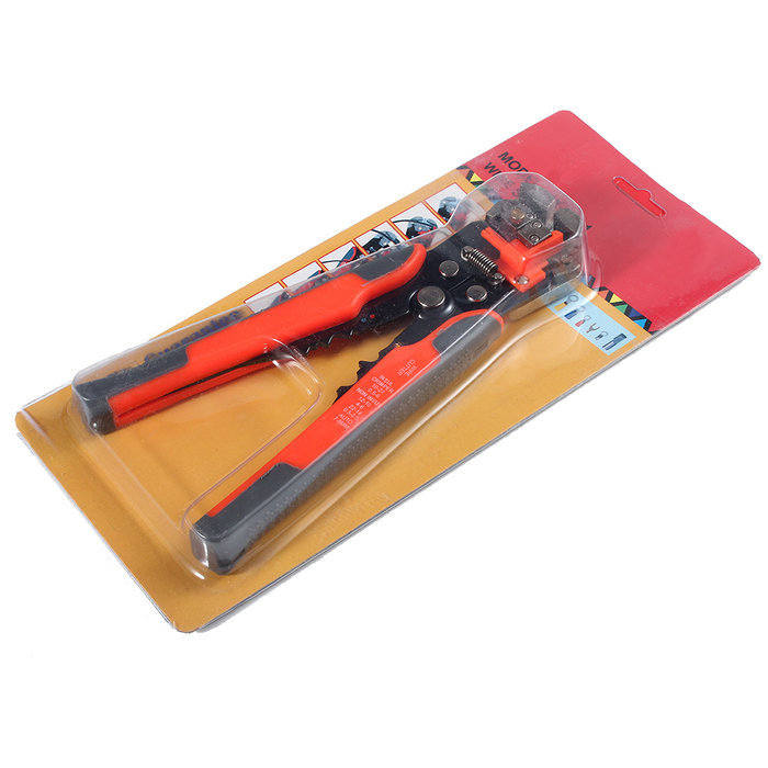 New Arrival Multifunctional Automatic Wire Cable Stripper Crimper Terminals Self Adjusting Plier Tool(China (Mainland))