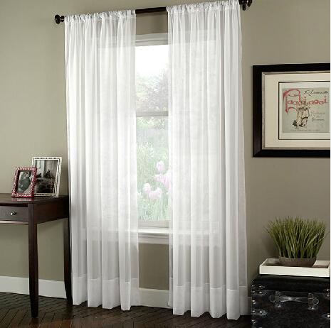 Fina pura cortinas de voile branco exibi es de sele o da for Cortinas de castorama pura