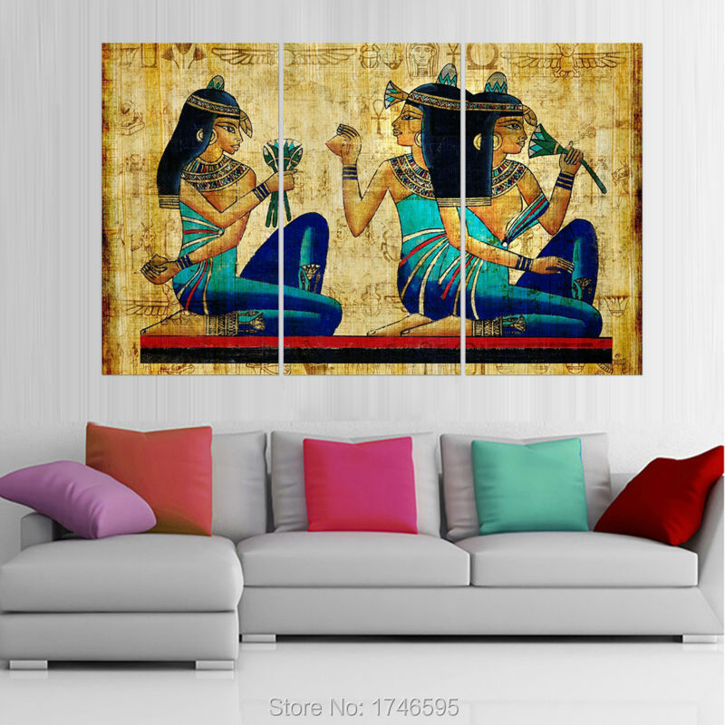Modern Living Room Art Egyptian Pictures Promotion Shop For Promotional  Egyptian Pictures