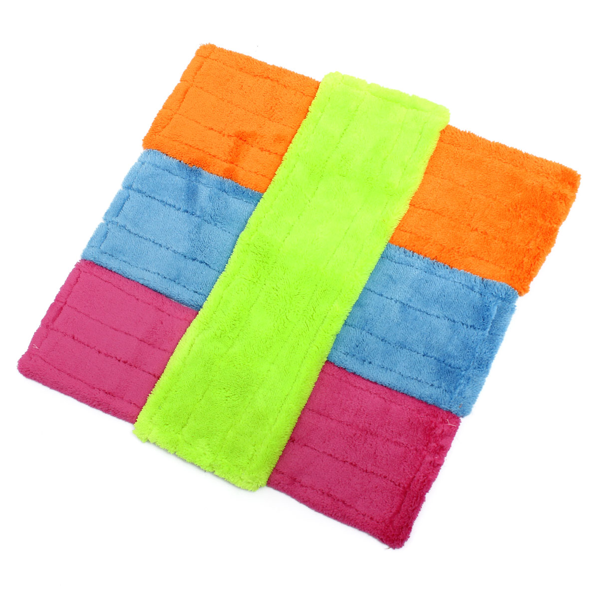 universal Cleaner Pad Dust Mop Household Microfiber Coral Mop Head Replacement Fit for Home Bathroom Kitchen Cleaning Helper DIY(China (Mainland))