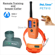 New 500M 9 Level LCD Display Remote Waterproof & Rechargeable Electric Pet Dog Training Collar Products Shock + Vibrate Collar