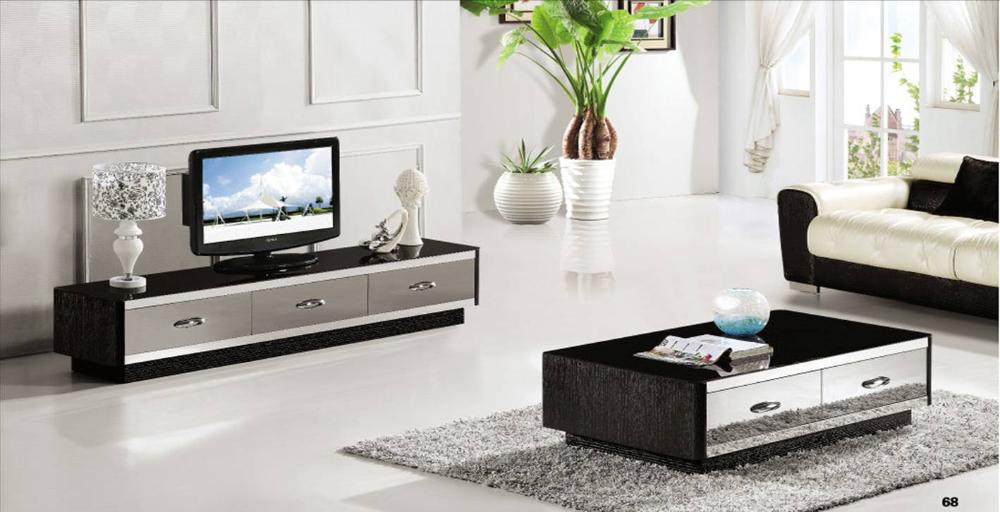 French style furniture coffee table tv cabinet 2 piece set for 7 piece living room set with tv