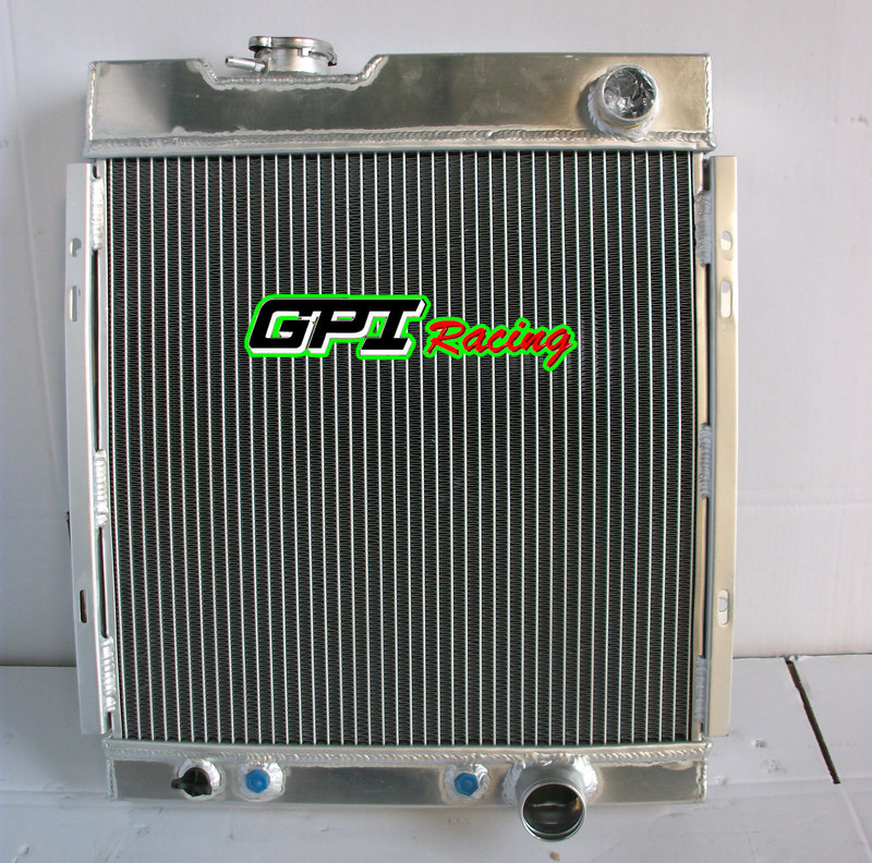 new Performance for 3 ROW FORD MUSTANG V8 289 302 WINDSOR 1964 1965 1966 64 65 66 ALUMINUM RADIATOR(China (Mainland))