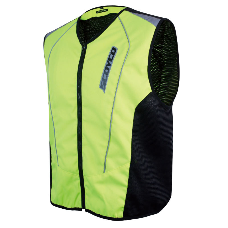 Motorcycle Roadway Reflective jacket Safety Clothing Scoyco JK30-2 chaleco reflectante protective vest ropa moto high visibility
