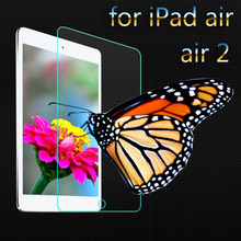 50pcs for ipad 5/6 explosion proof tempered glass screen protector for apple ipad air air 2/ipad 5 6 protective glass