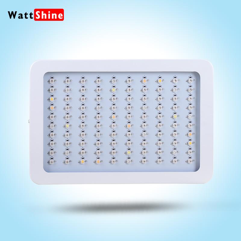 Free shipping Hot seller 300W Led Grow Lights Panel 3W Led plant lamps led light panel board panel light led panel surface(China (Mainland))