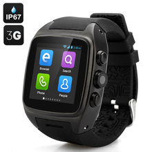 3G WIFI GPS Smart Watch,Toobur Smartwatch with Camera  support SIM Card,Android Devices Don't need to Connect Phone