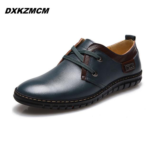 ГОРЯЧАЯ 2015 новый мужская повседневная кожаная обувь совет обувь для мужчин бизнес ...