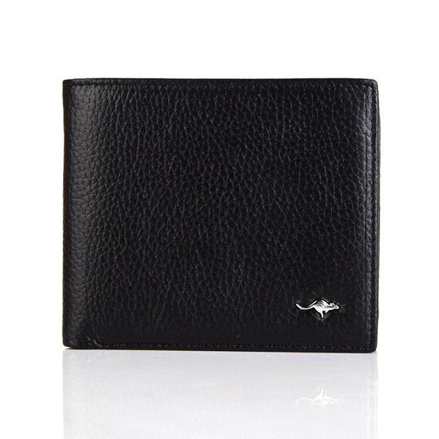 Hot Sale Cheap 2016 Men Wallet Short Black Wallets Purses Fashion Synthetic Leather Money Clips Sollid Thin Wallet For Men<br><br>Aliexpress