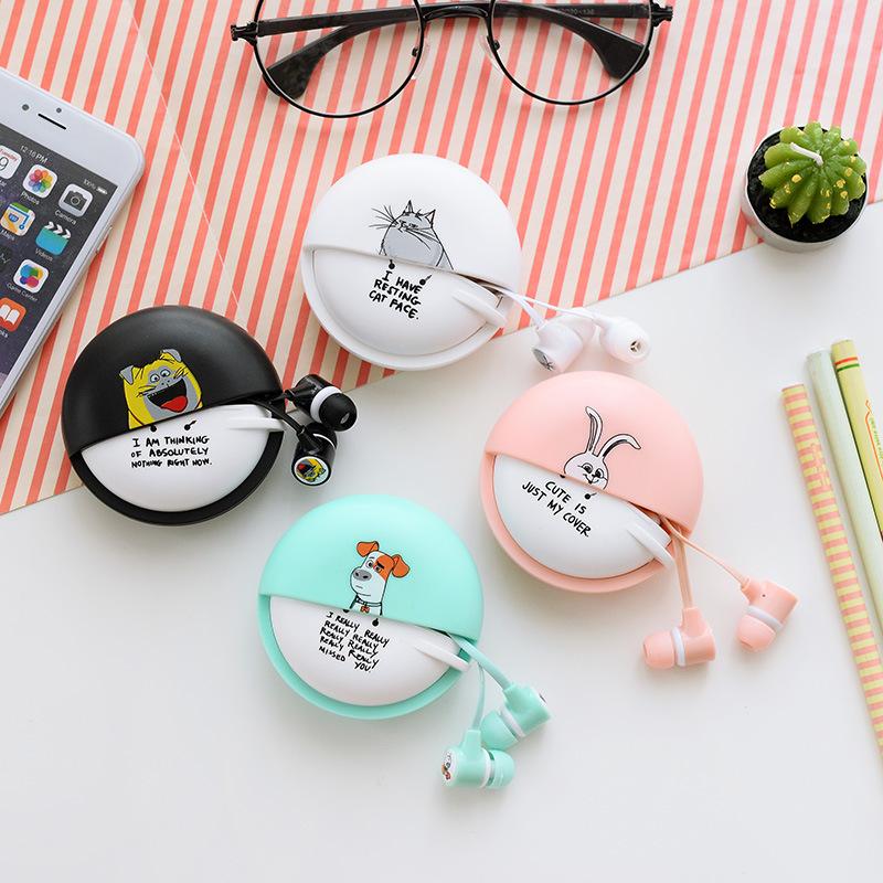 Cute Original EARFUN EF-E8 Candy Color Wired In-ear Earphone 3.5mm Universal Jack Plug Microphone Earpiece Earbuds Retail Box(China (Mainland))