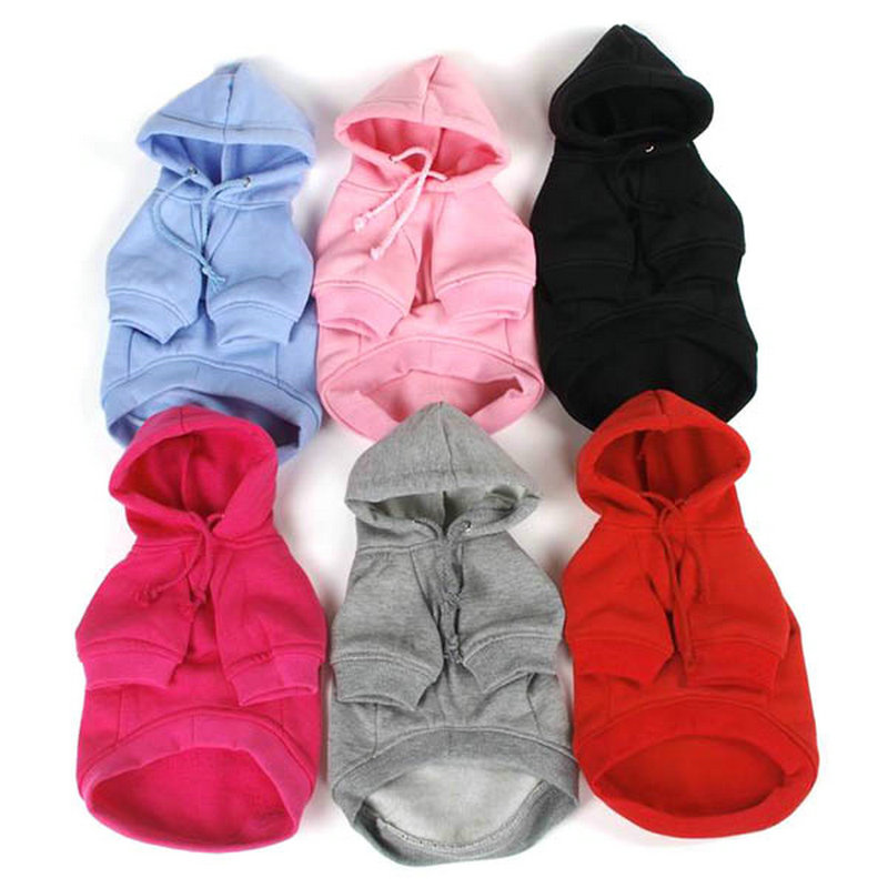 Warm Pet Dogs Coat Hoodie Clothes Puppy Cat Clothing Costume Jacket 7 Size Chihuahua