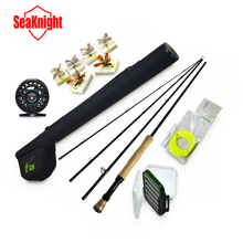 Hot Sale 7/8# 4 Segments Sections Fly Fishing Rod+Full Metal Reel+WaterProof Rod Bag+Lines+Box+Lure Super Quality Set Kit