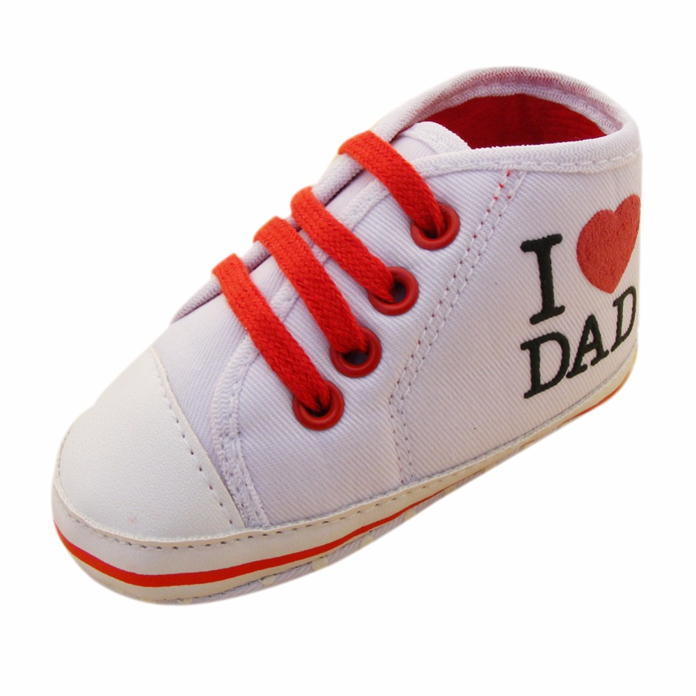 High-quality Newborn shoes Love Dad and Mom comfortable ...
