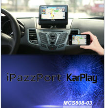 iPazzPort  iPush 7 inch multi-media car KarPlay car navigation entertainment system Monitor pc for iphone android  smartphone(China (Mainland))
