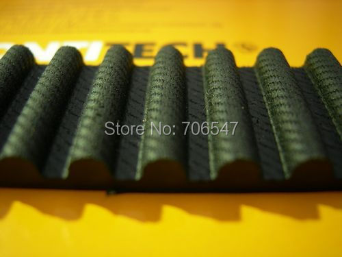 Free 1pcs HTD2600-8M-30 teeth 325 width 30mm length 2600mm HTD8M 2600 8M 30 Arc teeth Industrial Rubber timing belt