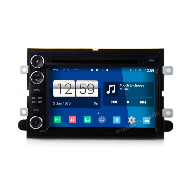 "7"" Car DVD Player  Radio stereo + GPS for Ford Fusion Explorer  Edge Expedition Mustang F250 F350 + 3G internet  Free  map"