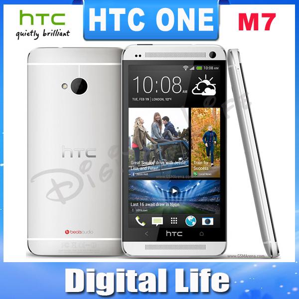 M7 Original HTC ONE M7 GPS WIFI 4MP camera 32GB Internal 4.7''TouchScreen Unlocked Cell Phone(China (Mainland))