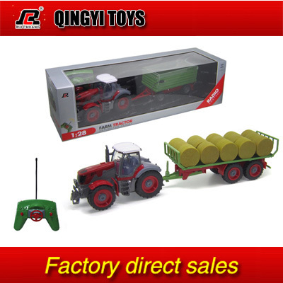 QYTOYS Rui Chuang 1:28 Multifuncional rc farm trailer tractor truck(China (Mainland))