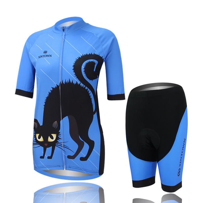 Cycling jersey Sportswear Bike Bicycle Jersey Cycling Clothes /Cycling wear/ Cycling short sleeve jersey+Bib Shorts Sets Women<br><br>Aliexpress