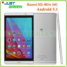 HUAWEI Medipad M2 M2-801W Android 5.1 Tablet PC Hisilicon Kirin930 Octa Core 8″ FHD 1920X1200 3GB RAM 16GB ROM 8.0MP Camera GPS